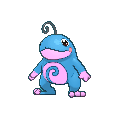 Quaxo-Sprite (XY, Shiny, vorne)
