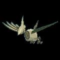 Panzaeron-Sprite (XY, Shiny, vorne)