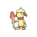 Farbeagle-Sprite (XY, Shiny, vorne)