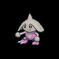 Kapoera-Sprite (XY, Shiny, vorne)