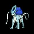 Suicune-Sprite (XY, Shiny, vorne)