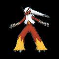 Lohgock-Sprite (XY, Shiny, vorne)