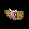 Pudox-Sprite (XY, Shiny, vorne)