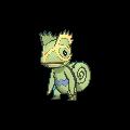 Kecleon-Sprite (XY, Shiny, vorne)