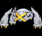 Metagross-Sprite (XY, Shiny, vorne)