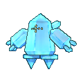 Regice-Sprite (XY, Shiny, vorne)