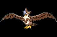 Staraptor-Sprite (XY, Shiny, vorne)