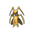 Zirpeise-Sprite (XY, Shiny, vorne)