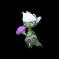 Roserade-Sprite (XY, Shiny, vorne)