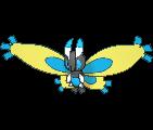Moterpel-Sprite (XY, Shiny, vorne)