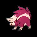 Skuntank-Sprite (XY, Shiny, vorne)