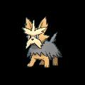 Terribark-Sprite (XY, Shiny, vorne)