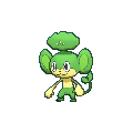 Vegimak-Sprite (XY, Shiny, vorne)
