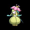 Dressella-Sprite (XY, Shiny, vorne)