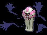 Echnatoll-Sprite (XY, Shiny, vorne)