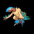 Aeropteryx-Sprite (XY, Shiny, vorne)