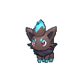 Zorua-Sprite (XY, Shiny, vorne)