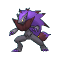 Zoroark-Sprite (XY, Shiny, vorne)