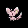 Picochilla-Sprite (XY, Shiny, vorne)