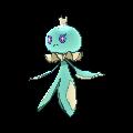 Quabbel-Sprite (XY, Shiny, vorne)