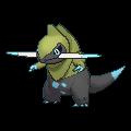 Sharfax-Sprite (XY, Shiny, vorne)