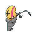 Hydragil-Sprite (XY, Shiny, vorne)