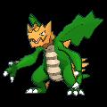 Shardrago-Sprite (XY, Shiny, vorne)