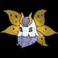 Ramoth-Sprite (XY, Shiny, vorne)