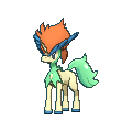 Keldeo-Sprite (XY, Shiny, vorne)