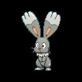 Scoppel-Sprite (XY, Shiny, vorne)
