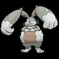 Grebbit-Sprite (XY, Shiny, vorne)