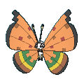 Vivillon-Sprite (XY, Shiny, vorne)