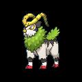 Chevrumm-Sprite (XY, Shiny, vorne)