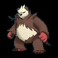 Pandagro-Sprite (XY, Shiny, vorne)