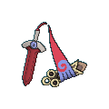 Gramokles-Sprite (XY, Shiny, vorne)