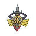 Durengard-Sprite (XY, Shiny, vorne)