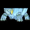 Arktilas-Sprite (XY, Shiny, vorne)