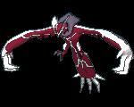 Yveltal-Sprite (XY, Shiny, vorne)